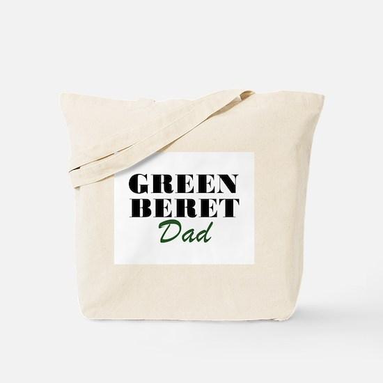 Green Beret Dad Tote Bag