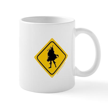 Bagpipe Player Crossing Mug