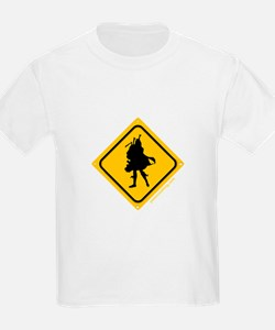 Bagpipe Player Crossing T-Shirt