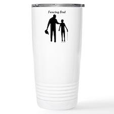 Fencing Dad Travel Mug