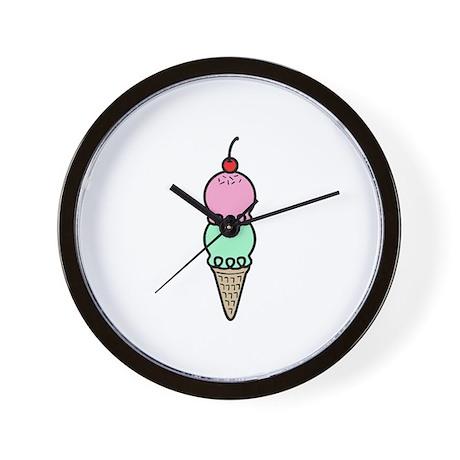 Ice Cream Wall Clock