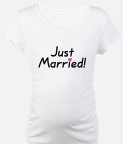 Just Married! (Pink Heart) Shirt