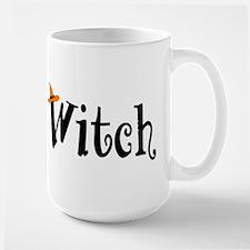 Witch (Orange Hat) Large Mug