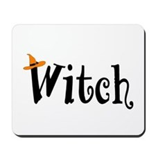 Witch (Orange Hat) Mousepad