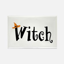 Witch (Orange Hat) Rectangle Magnet (10 pack)