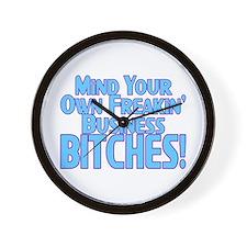 Freakin' Business Wall Clock
