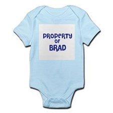 Property of Brad Infant Creeper