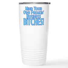 Freakin' Business Travel Mug