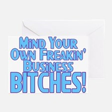 Freakin' Business Greeting Cards (Pk of 10)