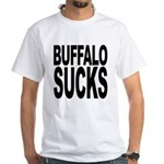 Buffalo Sucks White T-Shirt