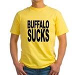 Buffalo Sucks Yellow T-Shirt