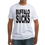 Buffalo Sucks Fitted T-Shirt