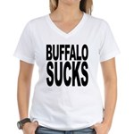 Buffalo Sucks Women's V-Neck T-Shirt