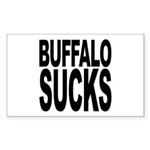 Buffalo Sucks Rectangle Sticker 50 pk)