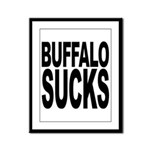 Buffalo Sucks Framed Panel Print