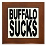Buffalo Sucks Framed Tile