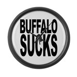 Buffalo Sucks Large Wall Clock