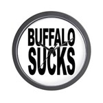 Buffalo Sucks Wall Clock
