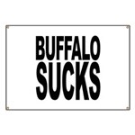 Buffalo Sucks Banner