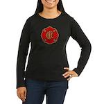Chicago Fire Women's Long Sleeve Dark T-Shirt