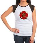 Chicago Fire Women's Cap Sleeve T-Shirt