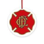 Chicago Fire Ornament (Round)