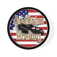 Anaheim Hockey Wall Clock