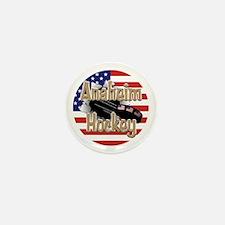 Anaheim Hockey Mini Button