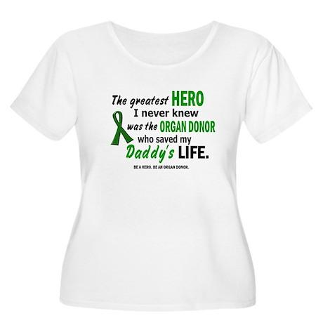 Hero I Never Knew 1 (Daddy) Women's Plus Size Scoo