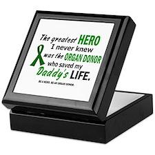 Hero I Never Knew 1 (Daddy) Keepsake Box