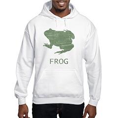 Vintage Frog Hoodie