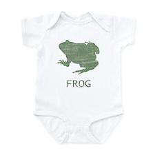 Vintage Frog Infant Creeper