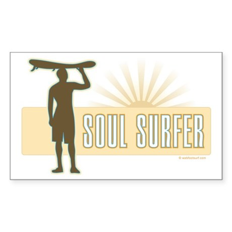 Soul Surfer - Rectangle Sticker