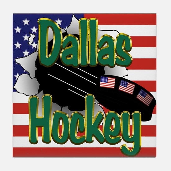 Dallas Hockey Tile Coaster