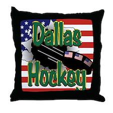 Dallas Hockey Throw Pillow