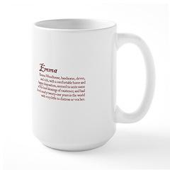 Jane Austen Emma Large Mug