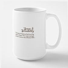 Jane Austen Sense & Sensibility Mug