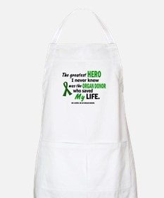 Hero I Never Knew 1 (Saved MY Life) BBQ Apron