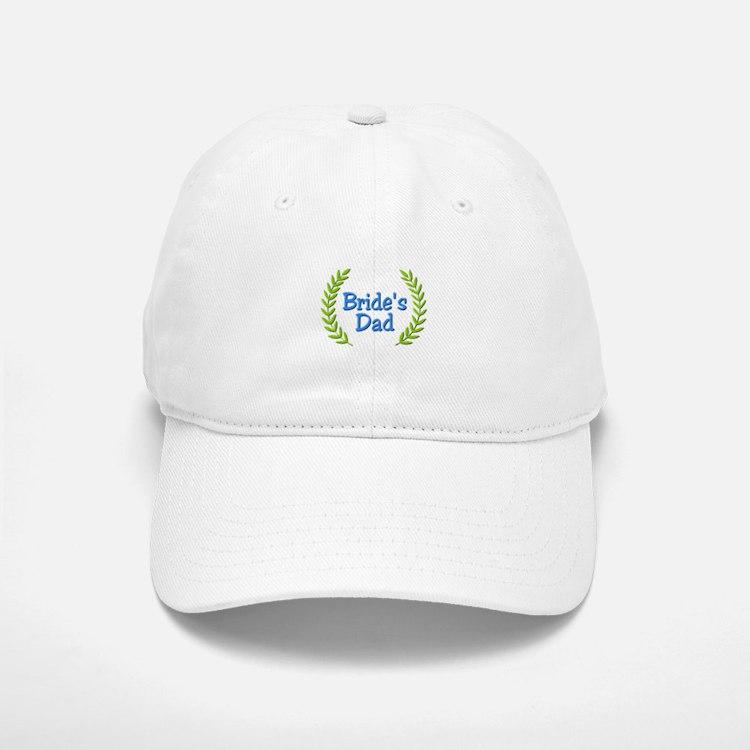 Bride's Dad (ferns) Baseball Baseball Cap