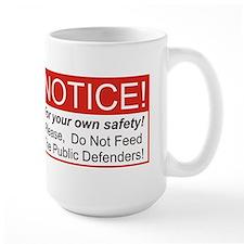 Notice / Defender Mug