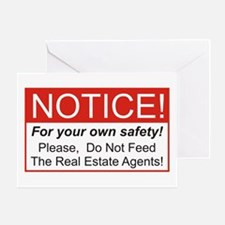Notice / Real Estate Greeting Card