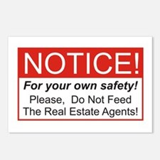 Notice / Real Estate Postcards (Package of 8)