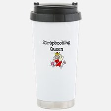 Scrapbooking Queen Stainless Steel Travel Mug