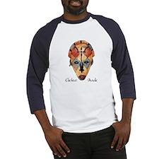 African Chokwe Mask Baseball Jersey