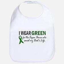 I Wear Green 2 (Dad's Life) Bib