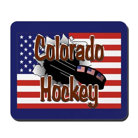 Colorado Hockey Mousepad