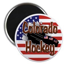 Colorado Hockey Magnet