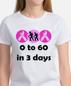 0 to 60 in 3 days Tee