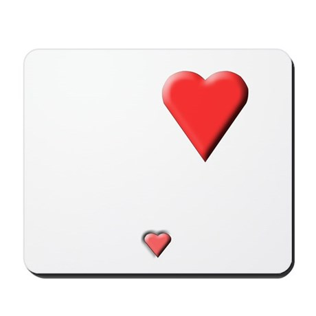 2 hearts, mother's and baby's Mousepad