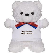 Half-Nutria Teddy Bear